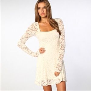 Free People | Flirt for you White Lace Dress